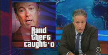 The Daily Show: 'Rand Theft Caught-O'