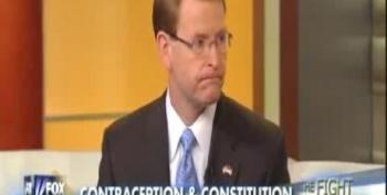 Tony Perkins: Liberty To Deny Contraception 'Why Pilgrims Came Here'