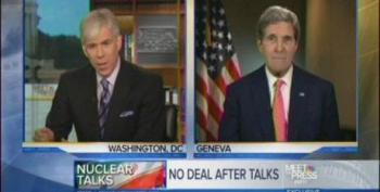 David Gregory Badgers John Kerry Over Iranian Negotiations