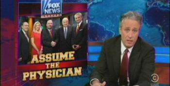 Assume The Physician: Jon Stewart Rips Fox's 'Medical A-Team'