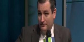 Watch: Forum Audience Laughs At Ted Cruz For Claiming He 'Didn't Want A Shutdown'