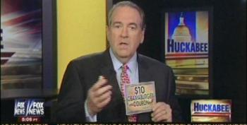 Huckabee Conflates Medical Insurance With 'Obamaburgers'