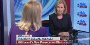 ABC's Raddatz Tells Sen. Gillibrand She's Not An 'Expert' On Military Rape Culture