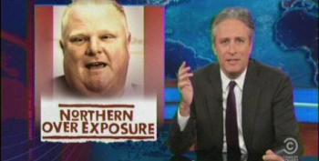 Daily Show Asks Who Is Still Supporting 'Crack-Smoking' Toronto Mayor