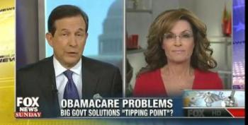 Palin: Filibuster Reform A Conspiracy To Stop Talk Of Failed Government At Thanksgiving Dinner