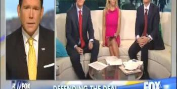 Fox's Steve Doocy: 'Curious Timing' That Iran Deal Came 'Out Of Nowhere' To Distract From Obamacare