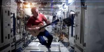 Astronaut Shares 'Unbeatable Point Of Inspiration' Found In Space