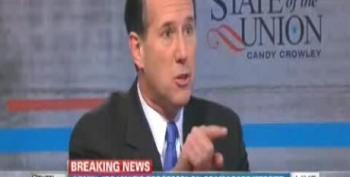 Santorum: Denying Women Contraception Coverage Is A First Amendment Right For Corporations