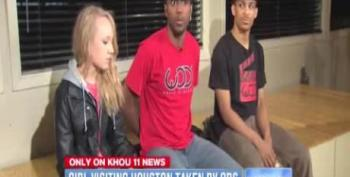 Houston Cops Handcuff And Take 13-Year-Old White Girl From Black Guardians