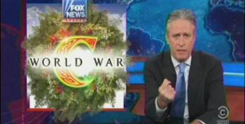 Jon Stewart Ridicules Fox For Their Annual 'War On Christmas'