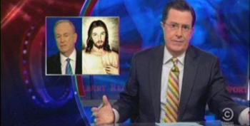 Stephen Colbert's Homeless For The Holidays
