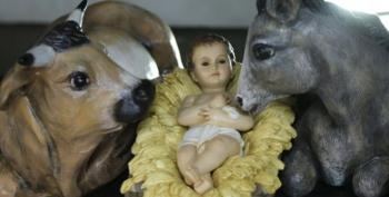 Churches Using GPS To Keep Track Of Baby Jesus