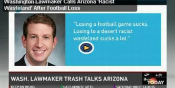 Washington Lawmaker Calls Arizona 'Racist Wasteland' After Football Loss