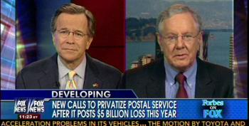 Fox Panelists Continue Push To Privatize The Post Office