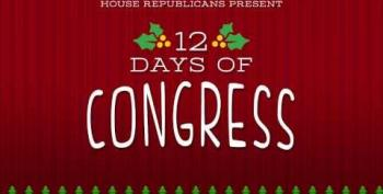 House Republicans' 12 Days Of Congress