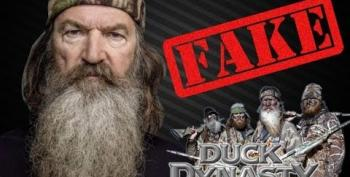 Duck Dynasty: Yuppies In Red-Neck Drag?
