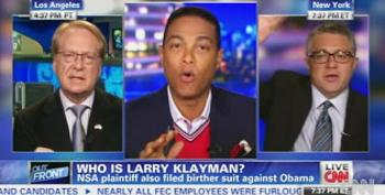 Watch Larry Klayman's On-Air Fight With Don Lemon And Jeffrey Toobin