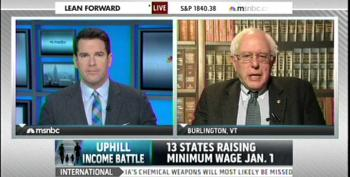 Bernie Sanders: Most People Understand Minimum Wage Is A Starvation Wage