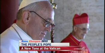 Talking Heads Praise Pope's Concern For Poor, Ignore Own Part In Austerity Politics