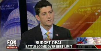 Paul Ryan Promises More Hostage Taking On Debt Ceiling