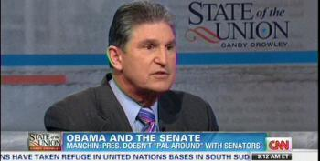 Manchin Complains That Obama Doesn't 'Pal Around' With Senators