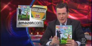Colbert Gets His Digs In On Ted Cruz's Wingnut Coloring Book