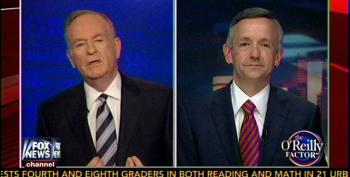 Wingnut Pastor Tells O'Reilly: Satan Is Behind 'War On Christianity'