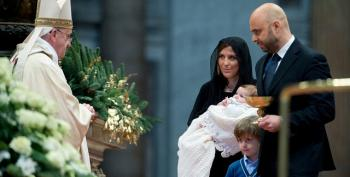 Pope Frank To Mothers In Sistine Chapel: Nurse Your Babies If You Need To