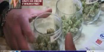 Crowds Line Up To Buy Legal Pot In Colorado