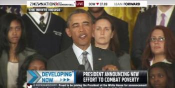Obama Announces Anti-Poverty Initiatives