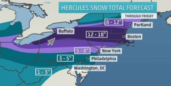 East Coast To Get Slammed This Week With Major Snowstorm