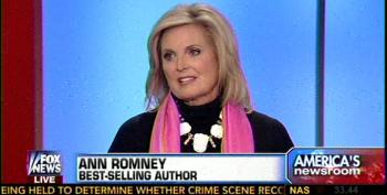The Ann Romney Whine: 'The Country Lost'