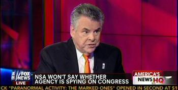 Peter King: NSA Spies On Congress In Case They're Talking To Al Qaeda