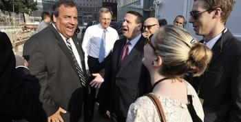 WSJ Obtains Pictures Of Christie With Bridge Lane Closure Official