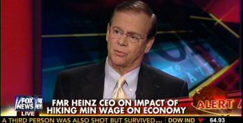 Millionaire Former Heinz CEO Helps Cavuto Spread Lies About Raising Minimum Wage