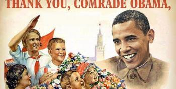 Winger Photoshop Fun: Put Obama's Head On Stalin's Body