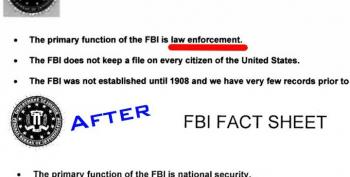 FBI: Primary Function Is Now 'National Security'