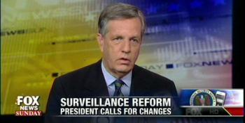 Fox's Hume: If Everyone's Under Surveillance, No One Is
