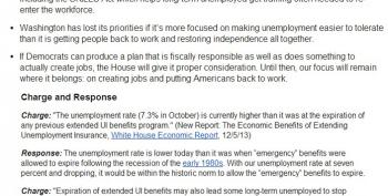 House Memo: How To Simulate Caring About The Unemployed