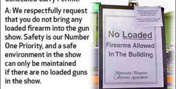 Open Thread - No Guns In The Gun Show!