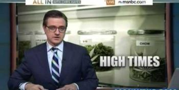 Chris Hayes Recounts Near Arrest For Marijuana