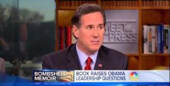 Jeffrey Goldberg Slams Rick Santorum: Overplaying 'Scandal' Quality Of Gates Memoir