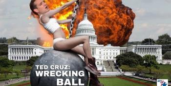 Ted Cruz Channels Miley Cyrus: Wrecking Ball