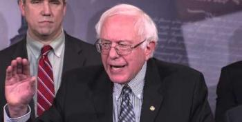 Senator Bernie Sanders Asks Why Network Sunday Shows Ignore Global Warming
