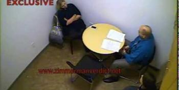 Chilling Police Video Of Zimmerman's Girlfriend Leaked Online