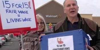Peter Schiff Harasses Walmart Shoppers In Attack On Fair Wages