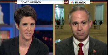 Rep. Tim Huelskamp Attacks Rachel Maddow As 'Cheerleader' For Obama Administration