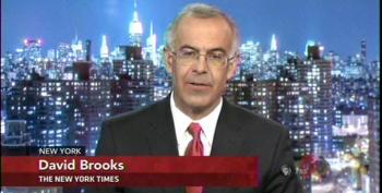 Brooks: Redistribution Still Not 'Majority Agenda' Because We Villagers Say So