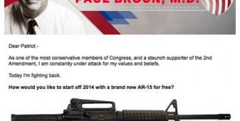 Crazy Paul Broun Offers Free AR-15 To Supporters