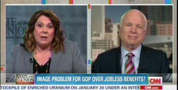 McCain: Jobless Benefits, Minimum Wage 'Clever Strategy' Of 'Anything But Obamacare'